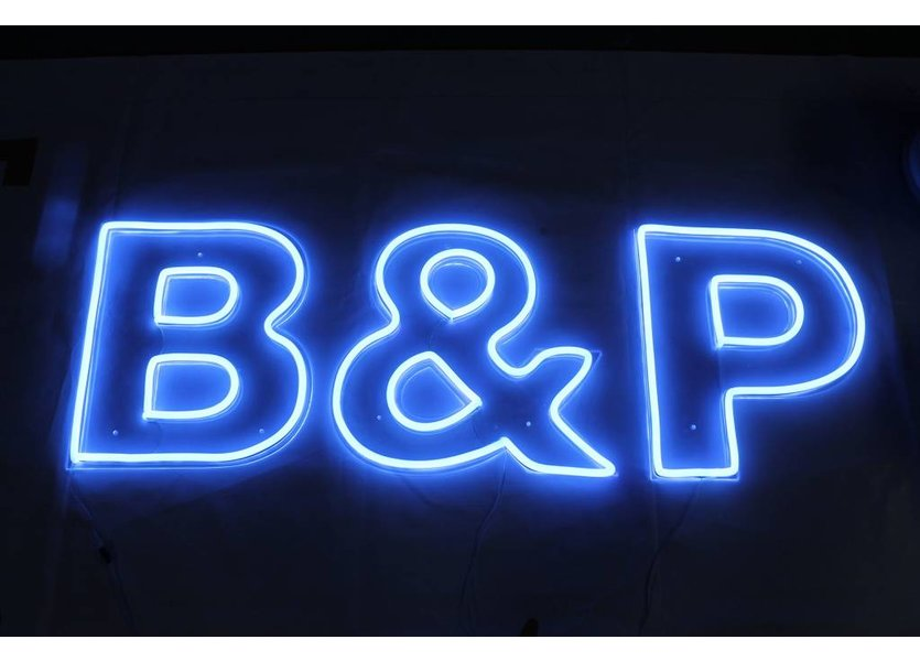 LED Neon Flex Micro Blauw 5 meter 6mm x 12mm inclusief 12V lichtnetadapter- Funnylights