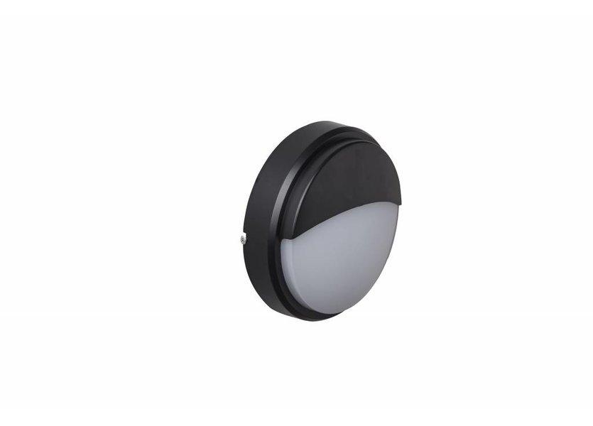 Moderne Buitenwandlamp Zwart IP65 incl. LED - Garleds Campo