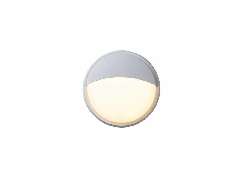 Moderne Buitenwandlamp Wit IP65 incl. LED - Garleds Campo