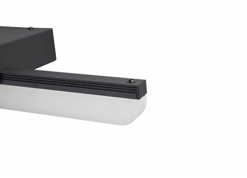 Spiegellamp LED Zwart 40 cm - Saniled Mera