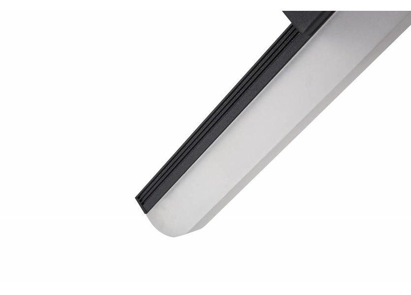 Spiegellamp LED Zwart 40 cm - Saniled Mera badkamerlamp