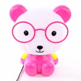 Funnylights Tafellamp Panda Roze - Funnylights Minum