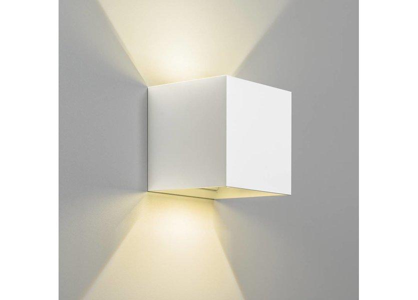 Wandlamp Buiten Kubus LED Wit - Gardenleds Klimop