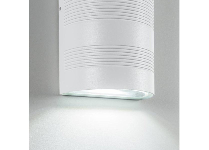 LED wandlamp 10 Watt - 3000K - IP65 - Wit