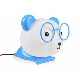 LED tafellamp panda blauw
