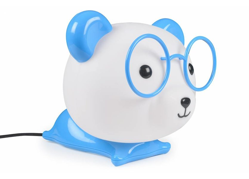 Tafellamp Panda Blauw - Funnylights Magby