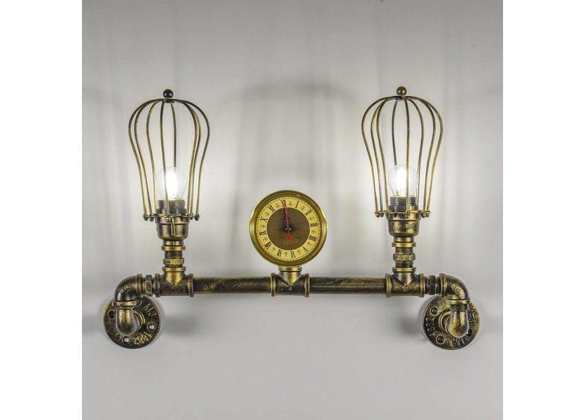 2-lichts Wandlamp waterleiding