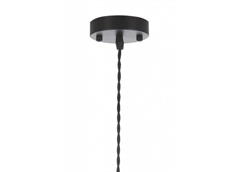 Hanglamp rode wijnfles