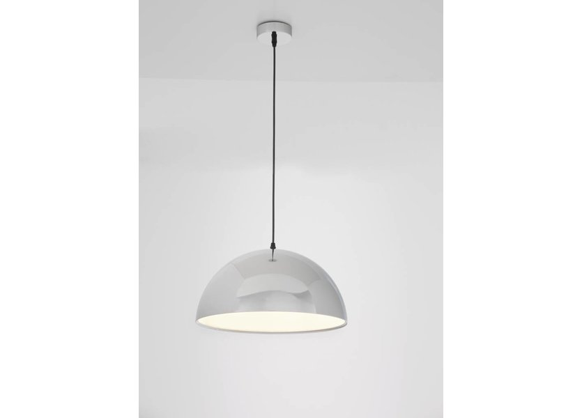 Moderne chrome hanglamp - Valott Peruna