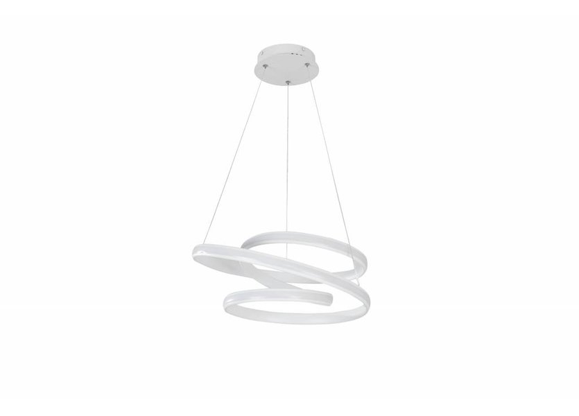 Hanglamp LED Design Wit Rond - Scaldare Gromo