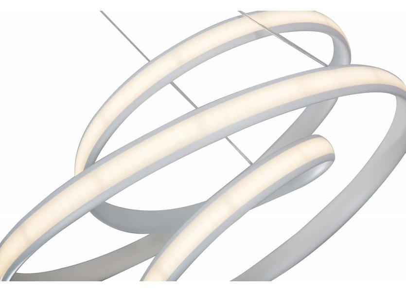 Hanglamp LED Design Wit Rond - Scaldare Gromo
