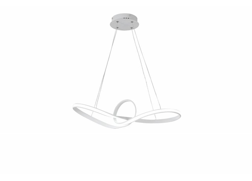 Hanglamp LED Design Wit Rond - Scaldare Delle