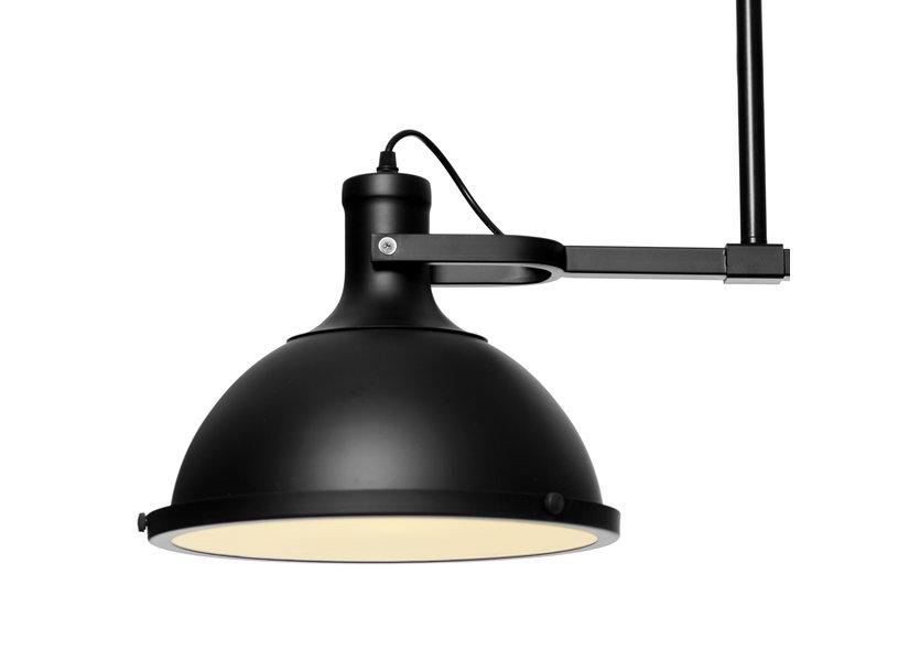 Zwarte trio hanglamp