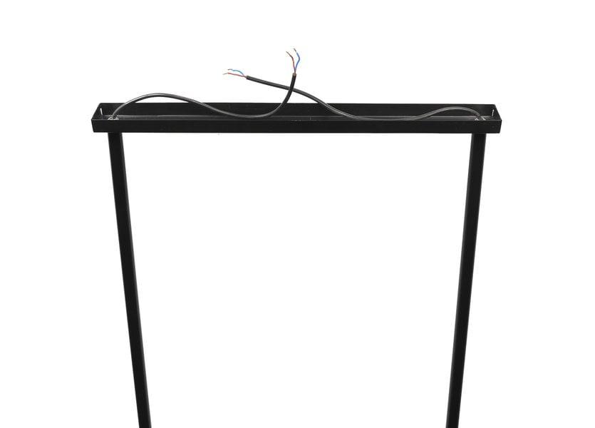 Zwarte Trio Hanglamp – Scaldare Caneva