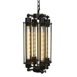 Scaldare Industriële Hanglamp Vier Buizen – Scaldare Asciano
