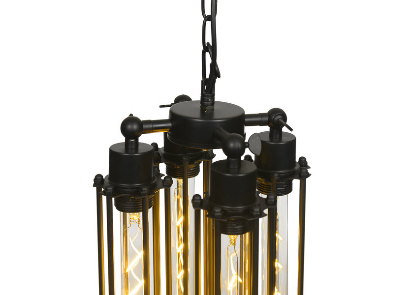 Hanglamp vier buizen