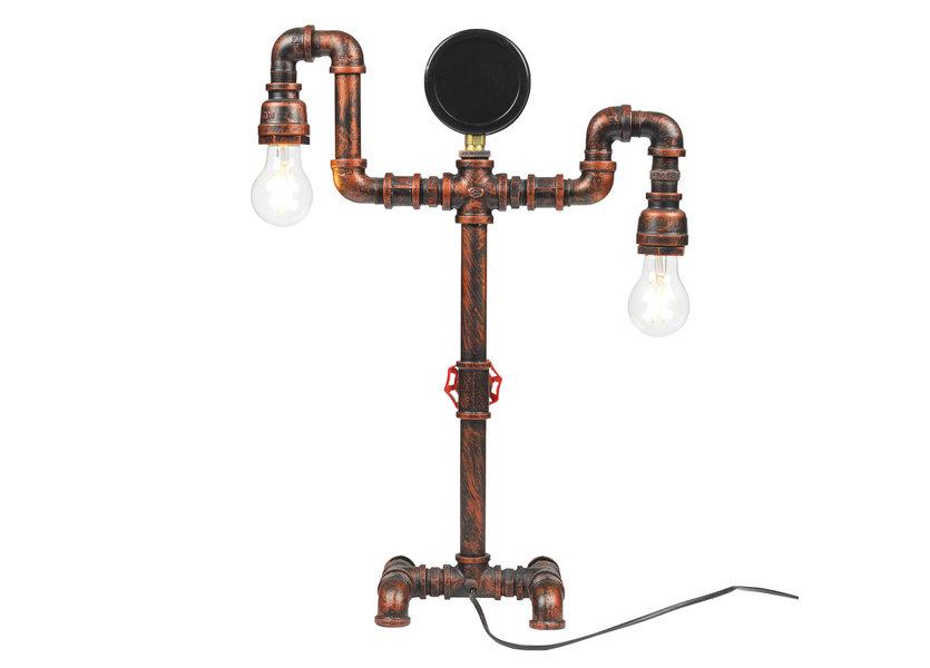 Industriele tafellamp watermeter