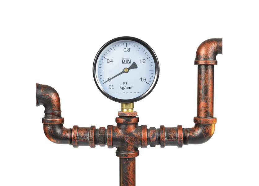 Industriële Tafellamp Watermeter - Funnylights Sentret