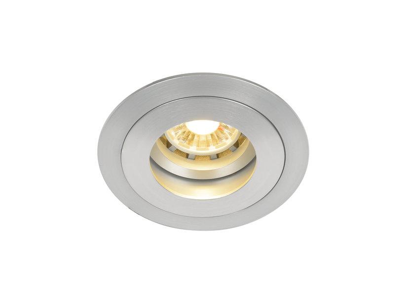 LED Inbouwspot Zilver Rond - Crius