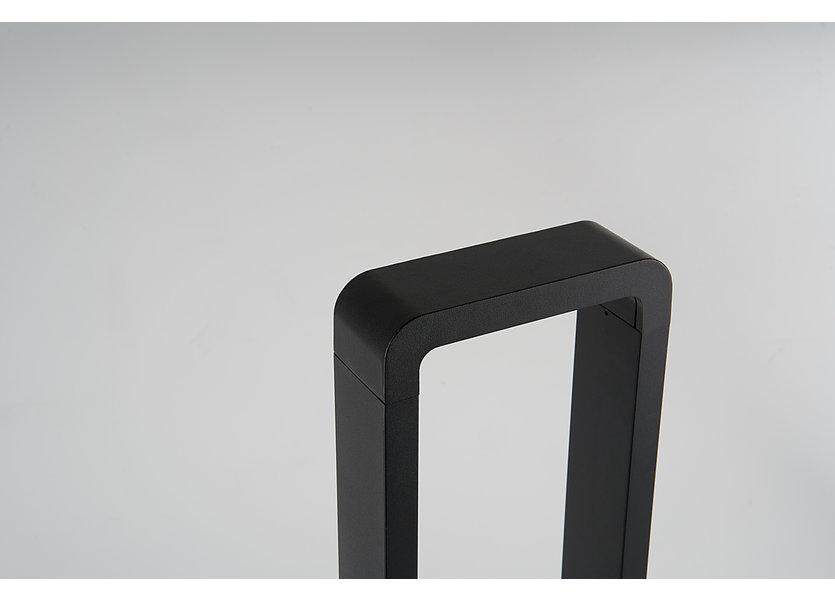 Moderne Staande Buitenlamp Zwart 60 cm IP65 incl. LED - Garleds Negra