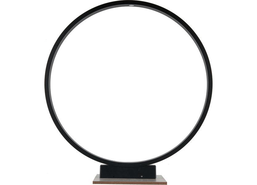 Moderne Staande Buitenlamp Zwart Rond IP65 incl. LED - Garleds Noche