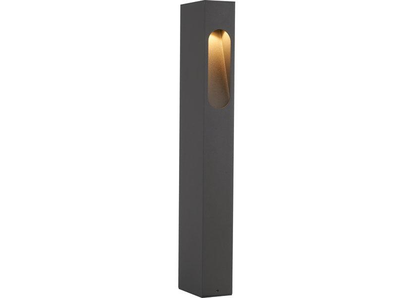 Moderne Staande Buitenlamp Zwart 60 cm IP65 incl. LED - Garleds Amaranto