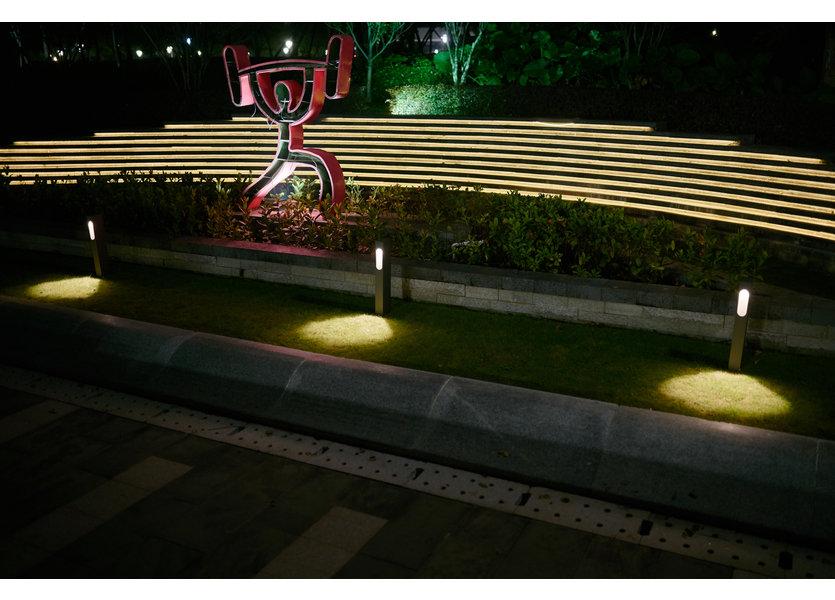 Staande Tuinlamp LED Zwart 60 cm - Gardenleds Amaranto