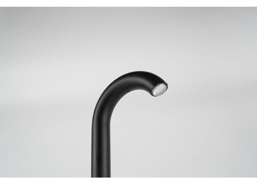 Design Sokkellamp Buiten LED Zwart 60 cm - Gardenleds Marron Staande buitenlamp