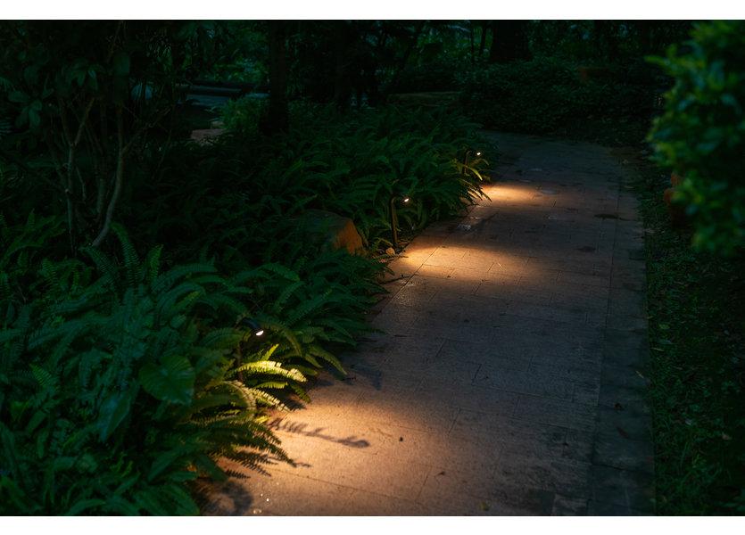 Staande Tuinlamp LED Zwart 60 cm - Gardenleds Marron