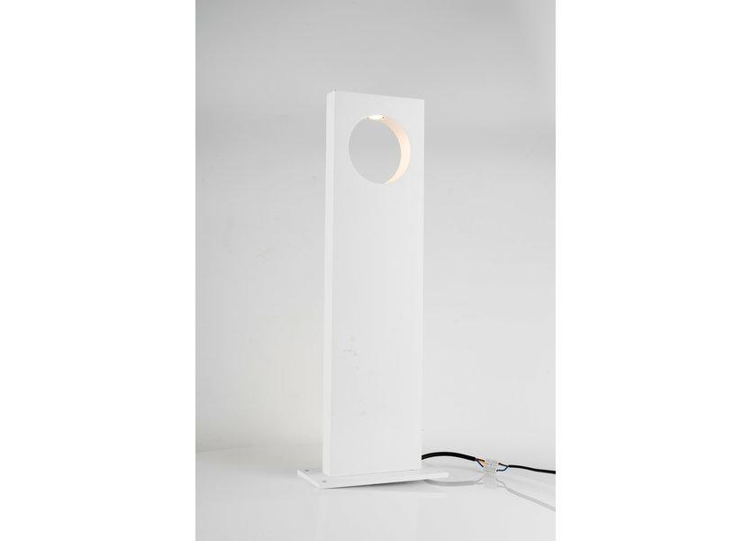 Moderne Staande Buitenlamp Wit 50 cm IP65 incl. LED - Garleds Veronica