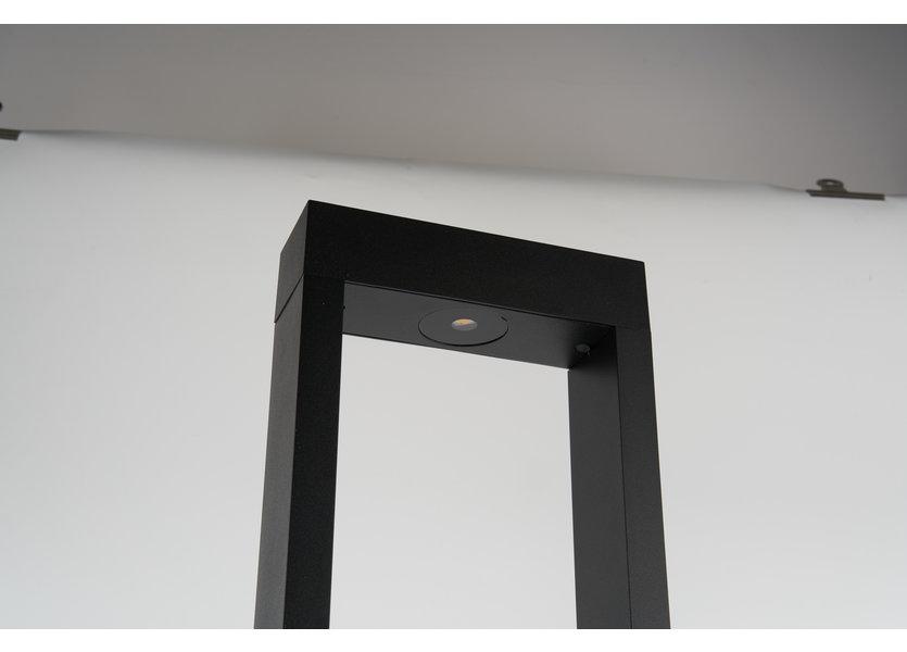 Moderne Staande Buitenlamp Zwart 80 cm IP65 incl. LED - Garleds Trebol