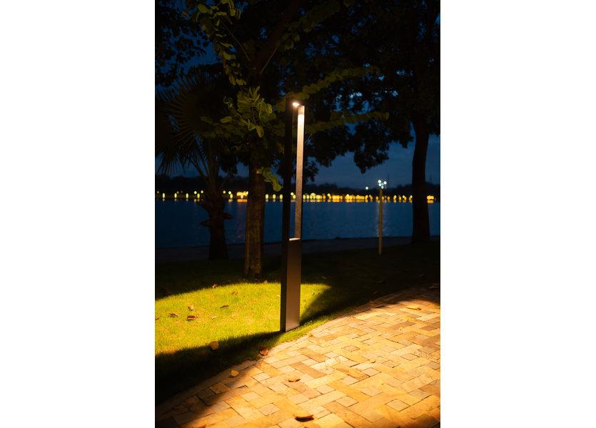 Staande Tuinlamp LED Zwart 80 cm - Gardenleds Trebol
