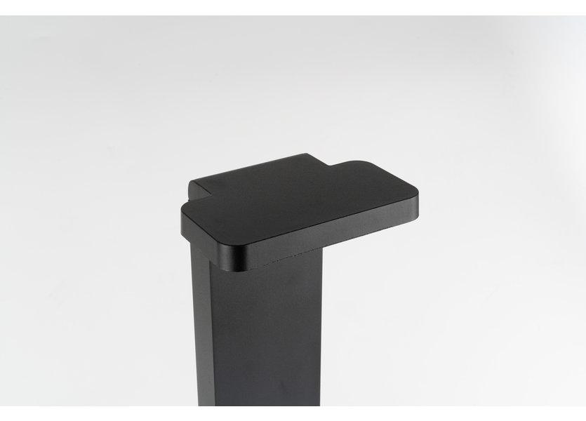 Moderne Staande Buitenlamp Zwart 60 cm IP65 incl. LED - Garleds Babu