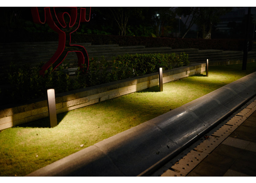 Staande Tuinlamp LED Zwart 60 cm - Gardenleds Babu