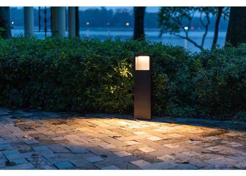 Design Staande Buitenlamp Zwart 60 cm IP65 incl. LED - Garleds Beleno