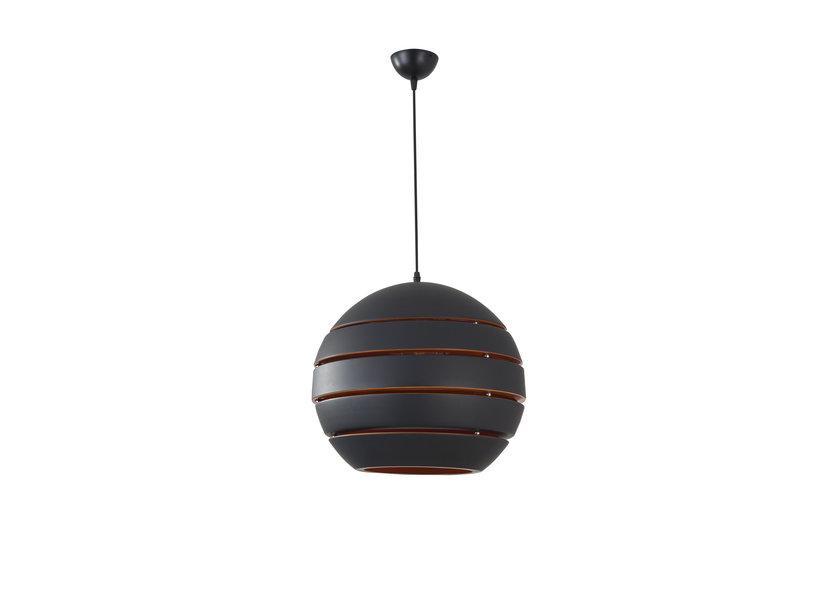 Hanglamp Rond Zwart Modern 40 cm - Scaldare Dalmine