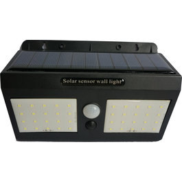 Solar-Lights Wandlamp Solar LED Zwart Daglicht - Solar-Lights Bismuth