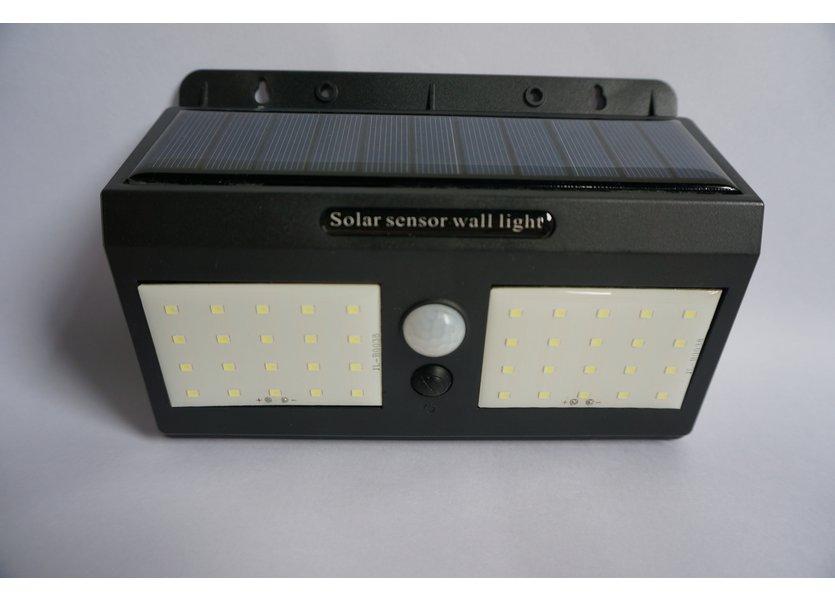 Wandlamp Solar LED Zwart Daglicht - Solar-Lights Bismuth