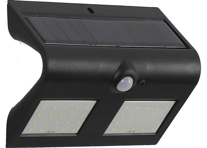 Wandlamp Solar LED Zwart Daglicht - Solar-Lights Cobalt