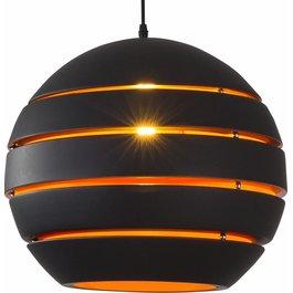 Scaldare Hanglamp Rond Zwart Modern 40 cm - Scaldare Dalmine