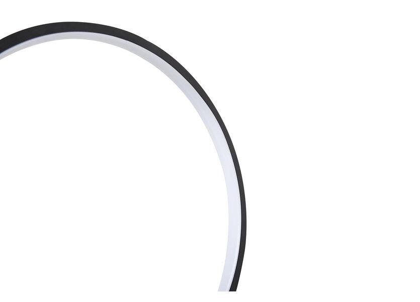 Tafellamp LED Design Zwart Rond - Scaldare Aidone