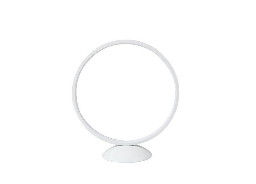 Tafellamp LED Design Wit Rond - Scaldare Aidone