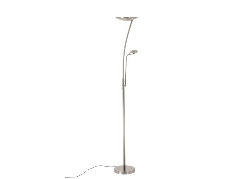 Staande Lamp LED Design Chrome 2 Licht - Scaldare Calestano