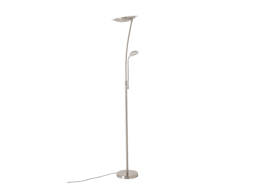 Staande Lamp LED Design Chrome 2 Licht - Scaldare Calestano