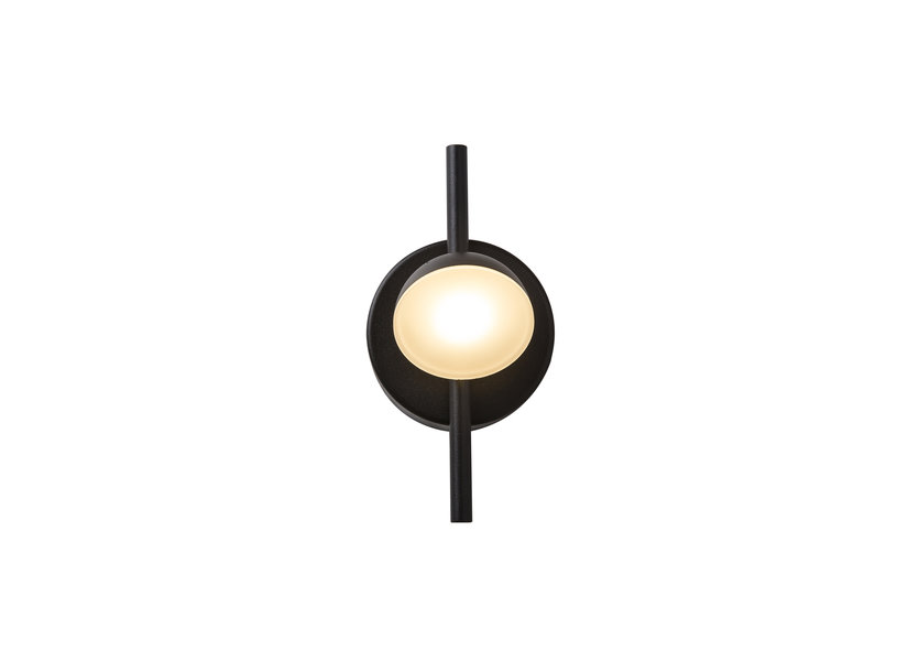 Wandlamp LED Modern Zwart Rond - Scaldare Faeto