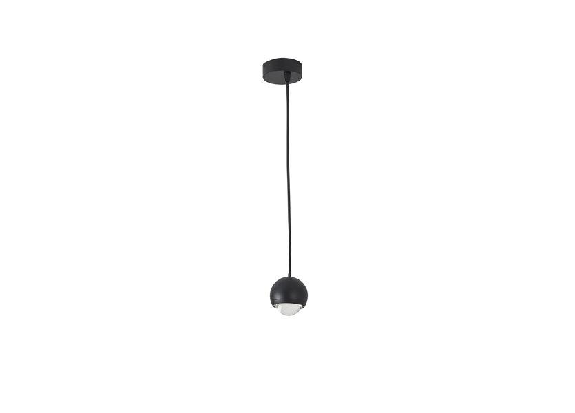 Hanglamp LED Modern Zwart Aluminium - Scaldare Lunata