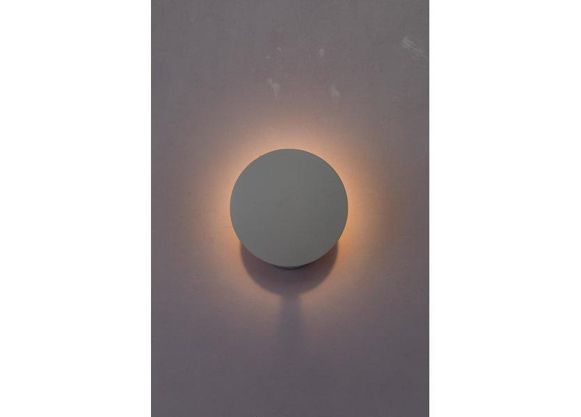Wandlamp LED Modern Wit Rond - Scaldare Galatina