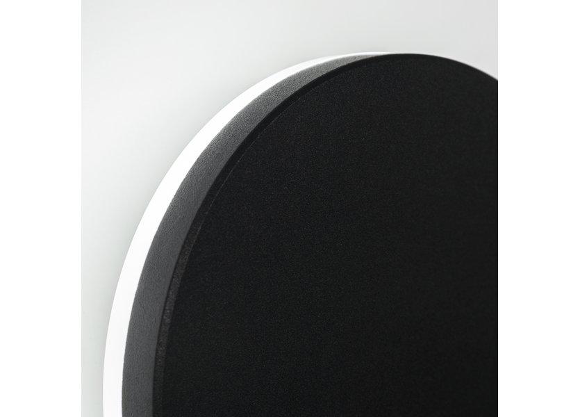 Moderne Buitenwandlamp Zwart IP65 incl. LED - Garleds Alisma
