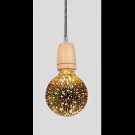 Crius Hanglamp Modern Hout Pendel - Crius
