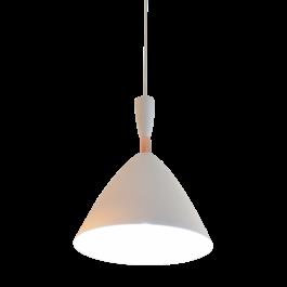 Valott Hanglamp Wit Aluminium met hout - Valott Aila